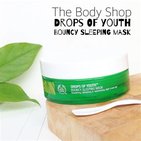 Best Seller The Bodyshop Drops Of Youth Youth Selamat Berbelanj the shop drops of youth bouncy sleeping mask beljaars