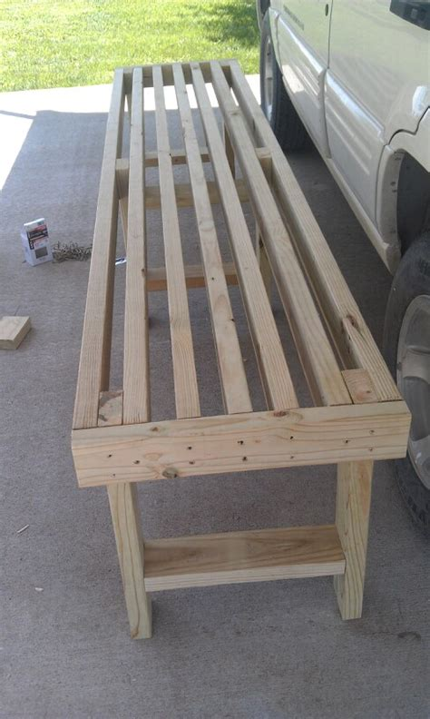2x4 woodworking bench easy 10 2x4 bench things i ve done pinterest 2x4