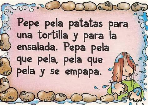 libro trabalenguas para que se trabalenguas con la p trabalenguas spanish preschool education and spanish