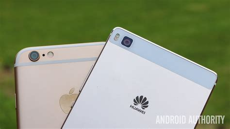 apple iphone 6 vs huawei p8 on android authority