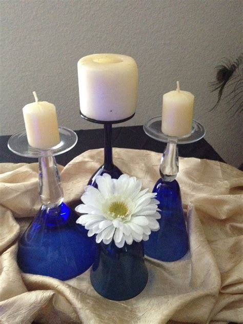 miriam ackerman events simple wine glass centerpiece