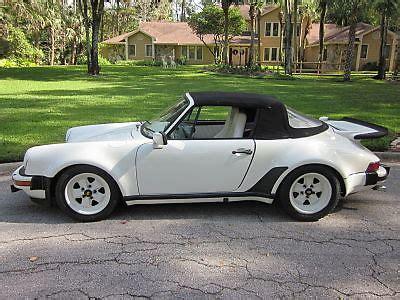 porsche 911 convertible 1980 porsche 911 convertible turbobody aftermarket 1980 white