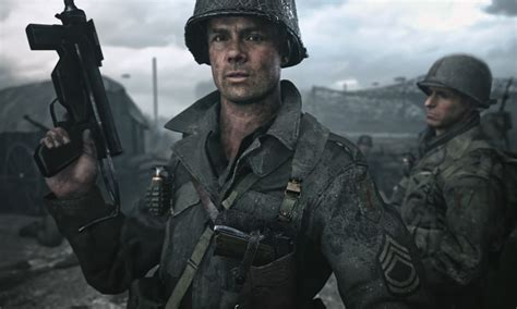call of duty wwii watch the first official trailer for call of duty wwii