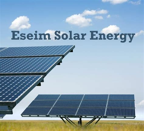 the solar co eseim solar energy company gambia ltd