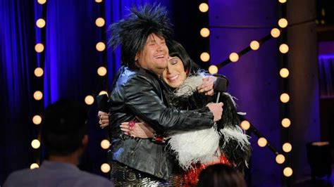 cher today 2016 watch cher and james corden sing i got you babe with a