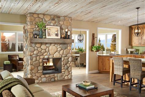 fireplace rock 10 brilliant fireplace rocks for living room ward log homes
