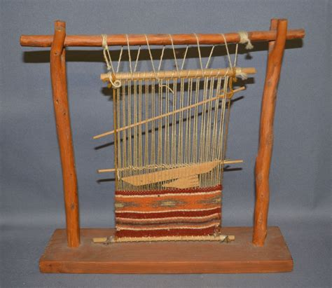 navajo rug loom navajo mini weavers loom