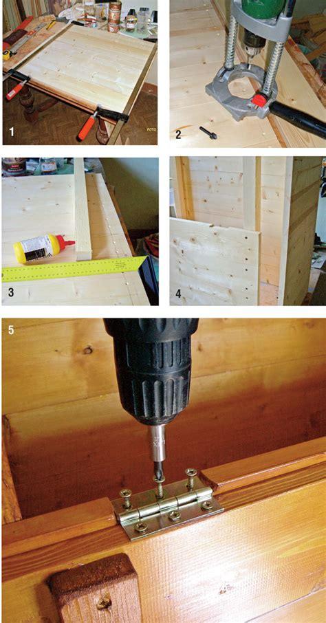 come costruire una come costruire una cassapanca in legno bricoportale fai