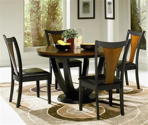 round dining room furniture round kitchen table set for 4 a complete design for small