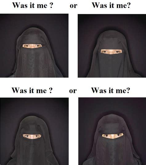 Burka Meme - muslim burka memes