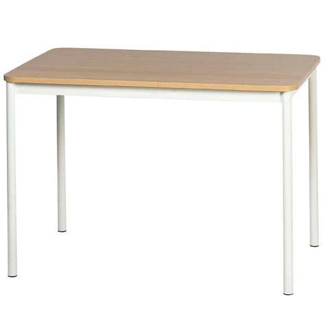 table cuisine rectangulaire table de cuisine basic rectangulaire en stratifi 233 4