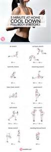 1000 ideas about cool down exercises on pinterest workout routines