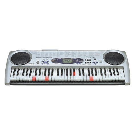 casio 61 key full size lighted keyboard casio lk 43 61 note lighted key portable keyboard
