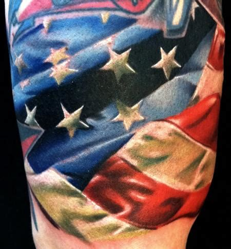 american flag arm tattoo american flag tattoos the finest american patriotism