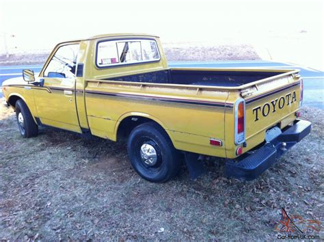 vintage toyota truck classic 1977 toyota pickup
