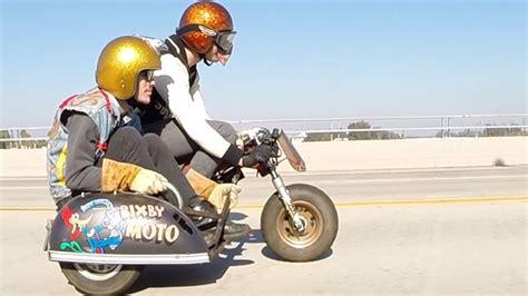 50ccm Motorrad Mit Beiwagen by Bixby Moto Honda Z50 Minibike Sidecar Deus Ex Machina