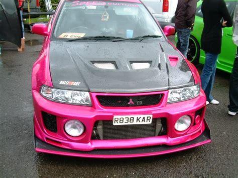 mitsubishi pink pink evo cars pinterest pink and evo