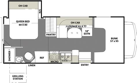 coachmen class c motorhome floor plans coachmen freelander motorhomes