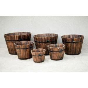 devault enterprises planters pottery wooden whiskey