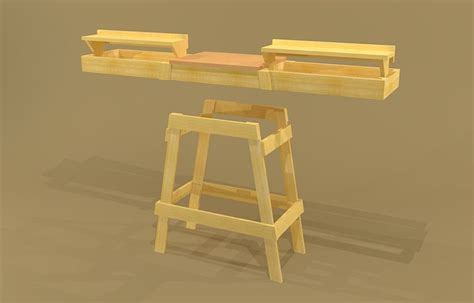 portable miter  stand plans google search