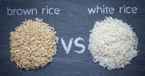 whole grain rice vs brown rice brown vs white rice which is better for your health