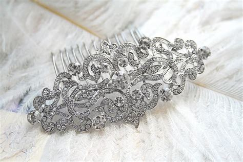 Vintage Wedding Hair Accessories Canada by Deco Hair Comb Vintage Hair Comb Hair