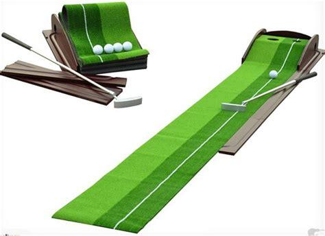 Putting Mats Indoor by Indoor Outdoor Golf Putting Trainer Portable Golf Practice