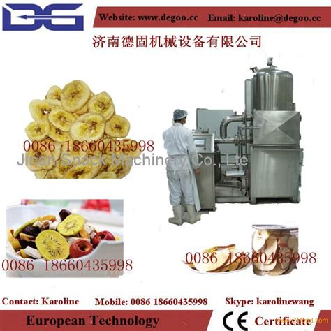 Vacuum Frying 35kg vacuum frying machine for fruit and vegetable chips