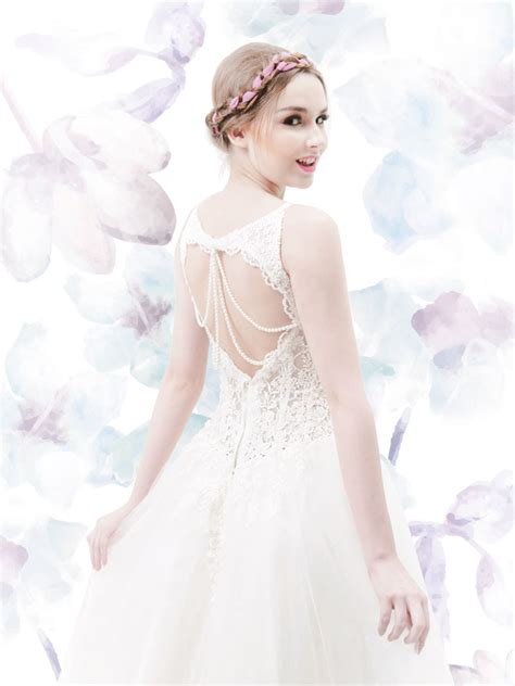 Gaun Pesta Princess Cheongsam wedding dress we gaun jogja
