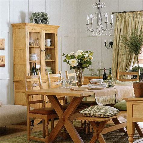small country dining room decor home design plan