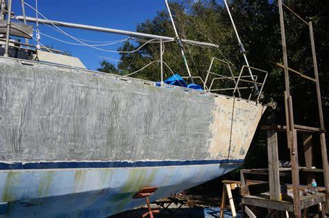 aluminium boat hull paint aluminum hull matt jessica s sailing page