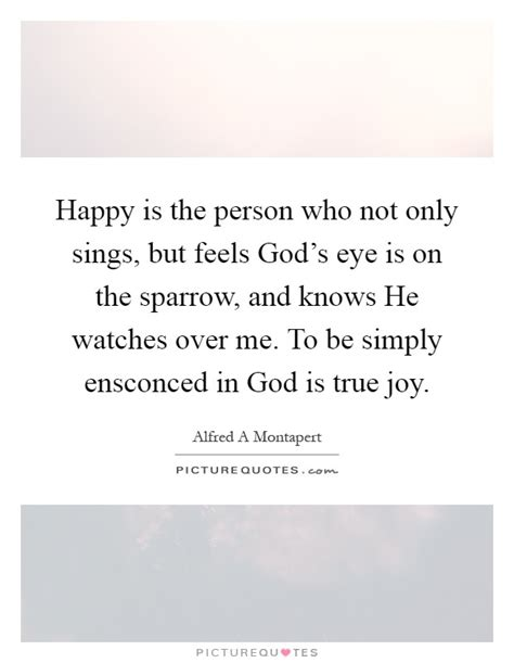 happy is the person who not only sings but feels god s