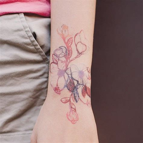 watercolor tattoos temporary 17 best projects to try images on tattoos