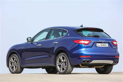 maserati levante blue 2016 maserati levante review can maserati really make an