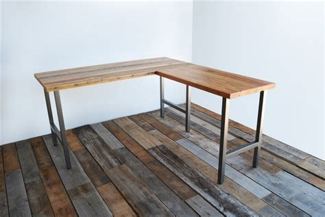 L Shaped Desk Plans Wood Community L Shaped Desk With Reclaimed Wood L Shaped Desk