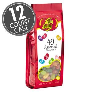 jelly bean bag count 49 assorted jelly bean flavors 7 5 oz gift bags 12