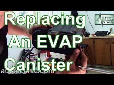 How To Replace An EVAP Emissions Vapor Canister P0456 Chrysler YouTube