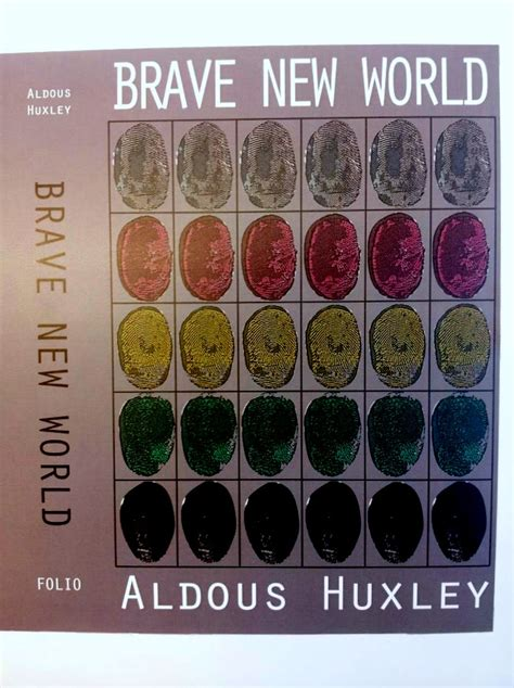 brave new world control theme tutti fruiti design book cover design for aldous huxley s