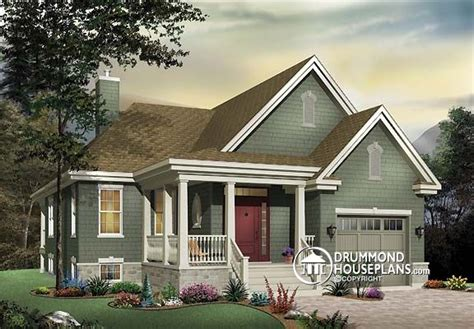 bungalow house plans with front porch plan of the week quot bungalow with inviting front porch quot drummond house plans blog