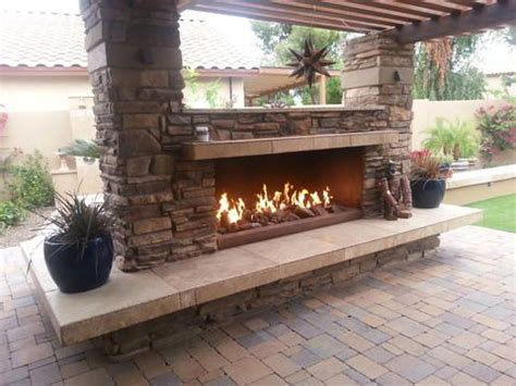 Large Open Fireplaces by Fireplace With Large Open Fireplace Outdoor