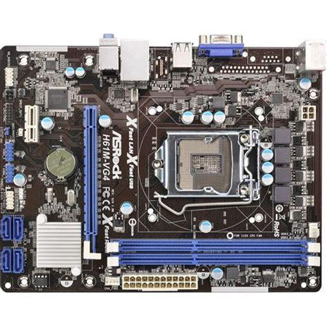 Mainboard Fast H61 asrock h61m vg4 intel h61 so 1155 dual channel ddr3 matx