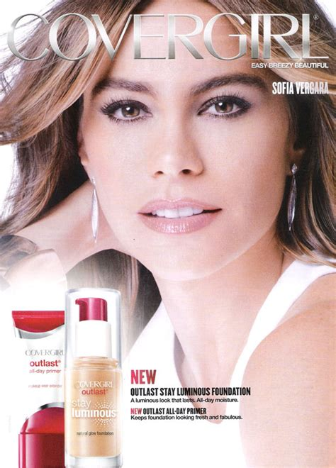 Makeup Ads Sofia Vergara Endorsements