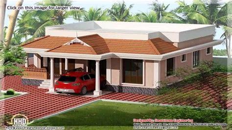 kerala style  bedroom house plans single floor