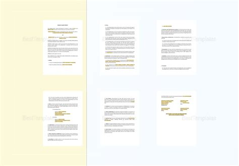 planner contract template wedding planner contract template in word docs