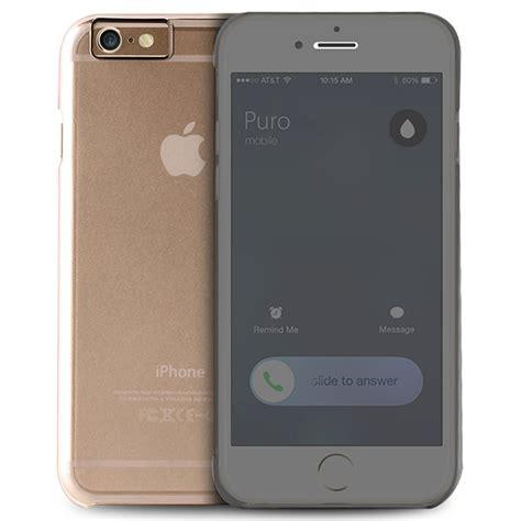 housing iphone 6 casing iphone 6 iphone 6 plus puro sense flip doorzichtig