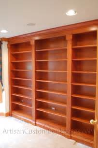 bookshelves wall unit custom wall unit bookcases artisan custom bookcases