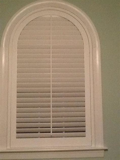 arch window shutters interior arched wood interior plantation shutter