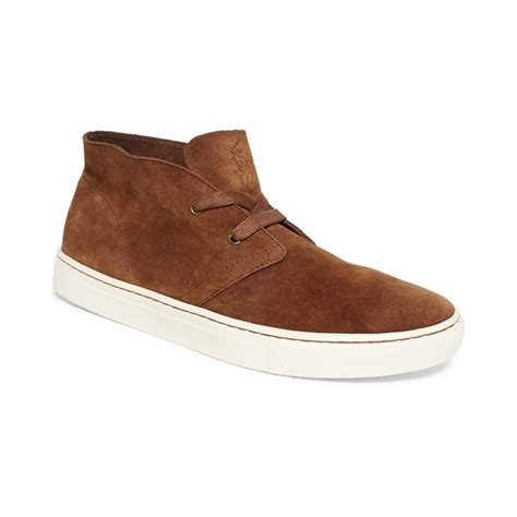 ralph polo boots for ralph polo joplin chukka boots in brown for