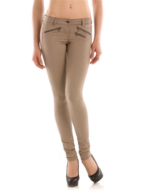 Jegging Paulsmith guess jegging pant in beige lyst