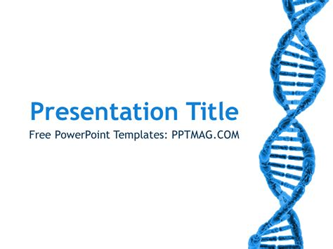 Dna Powerpoint Template Free Dna Powerpoint Template Pptmag